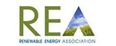 REA company logo
