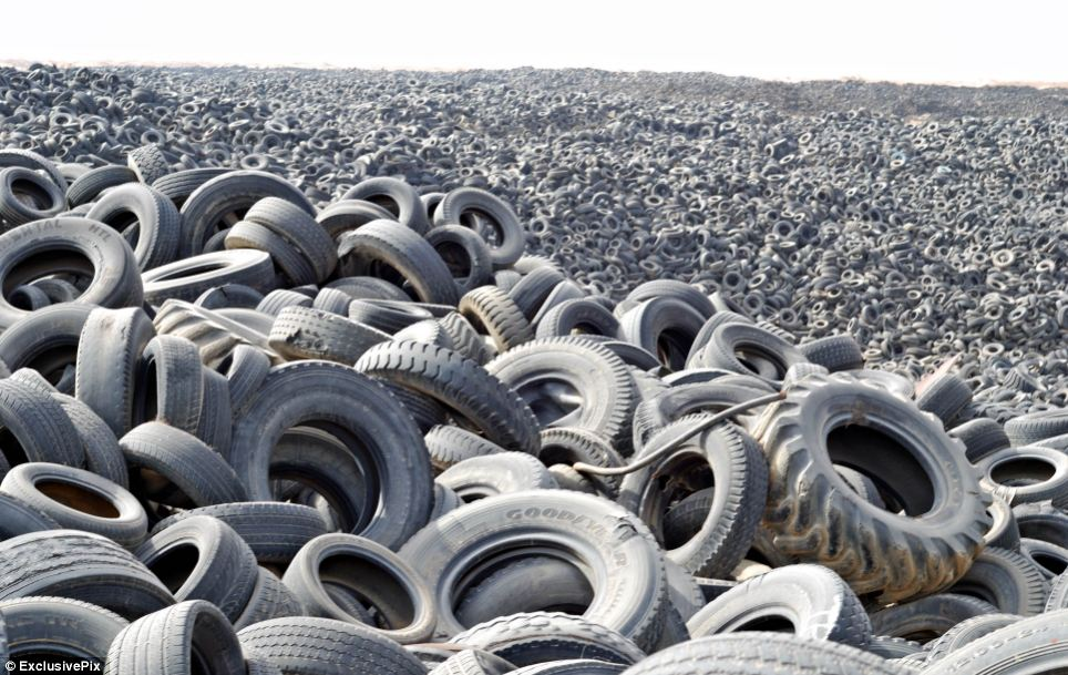 Wasted Tyres